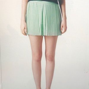 Topshop Shorts - Topshop mint green pleated short . Size S
